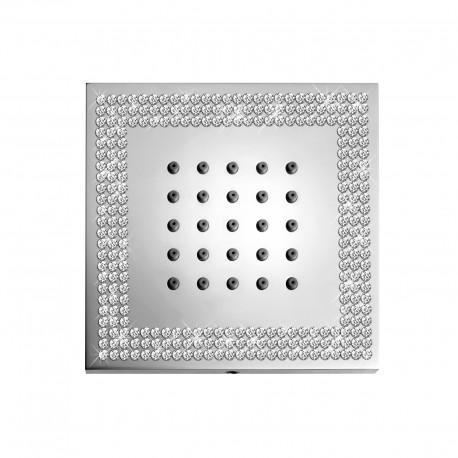 Body spray shower Swarovski Elements finishing Cubic Crystal Line Bossini I00176-050