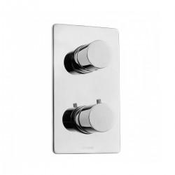 Miscelatore termostatico 2 uscite 2 pomoli Oki Bossini Z00101/Z00002