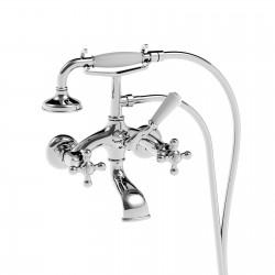 External bath mixer without adjustable shower bracket Leonardo La Torre 23019/180