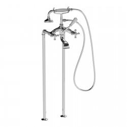 Floor mounted bath tub mixer Leonardo La Torre 23029