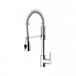 Single lever sink mixer with swivel spout Spring Gattoni 60176