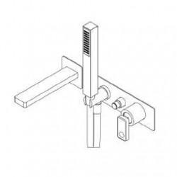 Built-in single lever bath mixer Nastro Ritmonio U0BA8438