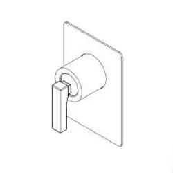 Built-in single lever shower mixer Ritmonio H0BA1138