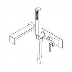 Built-in single lever bath mixer Waterblade_J Ritmonio H0BA1438
