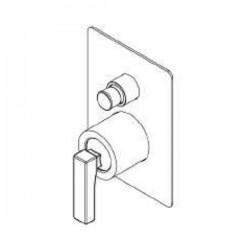 Built-in single lever shower mixer with diverter Ritmonio H0BA1451