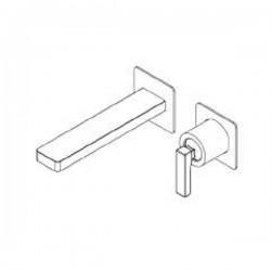 Built-in single lever basin mixer without plate Tetris Ritmonio P0BA5114SP