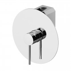 Circle One built-in shower mixer with GBOX universal built-in box 9030