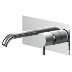 Diametro35  rubinetto lavabo incasso con bocca d'erogazione flessa E0BA0113C