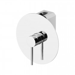 Circle Two built-in shower mixer with GBOX universal built-in box 9130