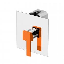 Color Cube miscelatore incasso doccia con leva colorata 8530.CH