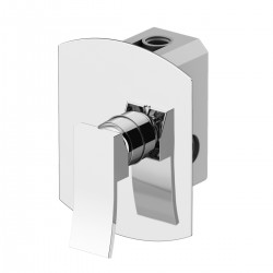 Built-in shower mixer with GBOX universal built-in box Ely Gattoni 8830.CH