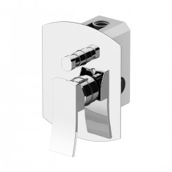 Built-in 2 ways mixer with diverter and Gbox universal built-in box Ely Gattoni 8834.CH