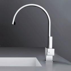 Rubinetto per lavello con bocca girevole Square Gattoni 4466