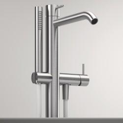 Z316 Inox rubinetto miscelatore monocomando per vasca a pavimento