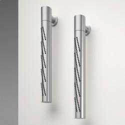 Z316 Inox soffione doccia tubolare girevole