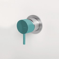Concealed shower mixer Z316 Inox Color Zazzeri 3300A402AA0AS