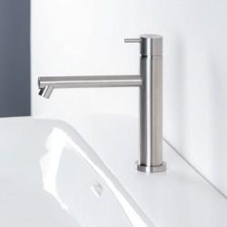 Diametro35 Inox rubinetto miscelatore lavabo bocca d'erogazione dritta E0BA0123DINOX