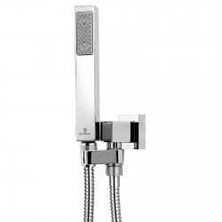 Shower set with swivel hook Cube Bossini C55001