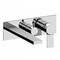 Complete built-in single-lever bath and shower mixer with shower Gaia Fratelli Frattini 55524 - 98014