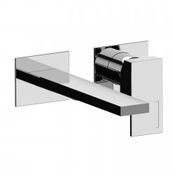 Complete built-in washbasin mixer without pop-up waste Vita 53034A