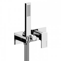Complete built-in single-lever mixer with 2 way diverter and handshower Vita Fratelli Frattini 53525 - 98015