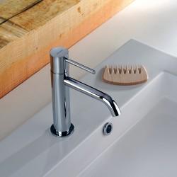 Rubinetto miscelatore monocomando per lavabo Pepe XL Fratelli Frattini 12454 - 12450