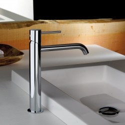 High version single-lever washbasin mixer without waste Pepe XL Fratelli Frattini 12465