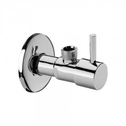 C.P. angle valve with lever handle Daniel Rubinetterie A600