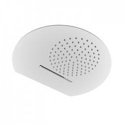 Shower head with rain and cascade flow Fratelli Frattini 89607.00