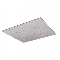 Soffione doccia a soffitto 400x400 mm acciaio inox Fratelli Frattini 90912.2