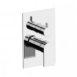 Tolomeo rubinetto miscelatore monocomando incasso doccia con deviatore 83541