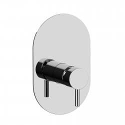 Complete built-in single-lever shower mixer Pepe 12016