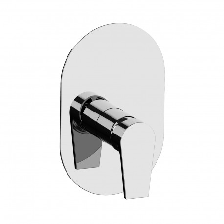 Complete built-in single-lever shower mixer Gioia 73016