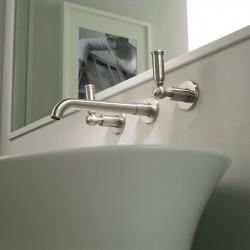Batteria lavabo incasso a tre fori Liberty Bossini Z001303