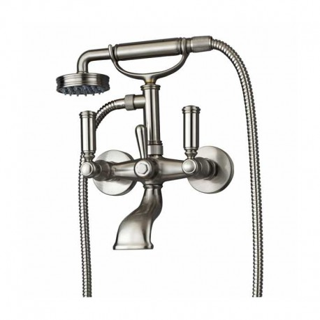 Exposed bath mixer with diverter and Liberty-Gom handshower Liberty Bossini Z001103
