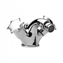 One hole bidet mixer with pop-up waste Miss Daniel Rubinetterie MI6200