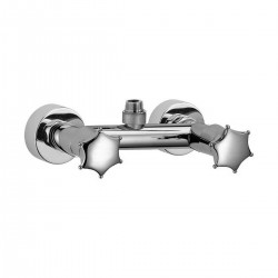 Wall-mounted shower mixer with connection 3/4 for columns Miss Daniel Rubinetterie MI4433Z