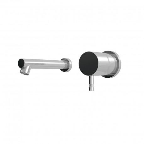 Diametro35 rubinetto lavabo incasso con bocca d'erogazione dritta E0BA0113SX