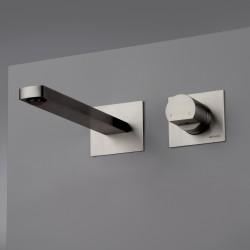 Rubinetto incasso a parete senza placca per lavabo Borgia Inox Fratelli Frattini 89544