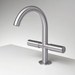 Single-hole washbasin set Z316 Inox Zazzeri 33013102A00