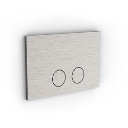 Placca per cassetta a doppio flusso Geberit Sigma Z316 Inox Zazzeri 33A0PW01A00