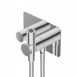 Built-in thermostatic mixer with toilet-jet handspray DOT316 Ritmonio 7AHZ101