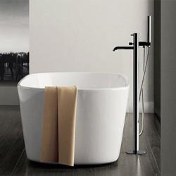 Free standing bath mixer floor mounting Tokyo Daniel Rubinetterie TK678