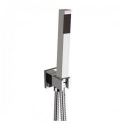 Minimal square shower set Daniel Rubinetterie A547Q495