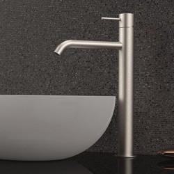 Single lever basin mixer Tokyo Steel Daniel Rubinetterie SSTX607CC - SSTX607BN