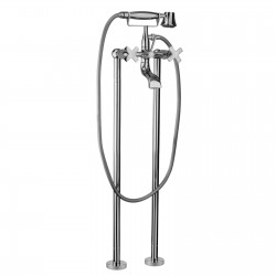 External bath mixer withduplex shower Lucrezia Fratelli Frattini 62002-92573