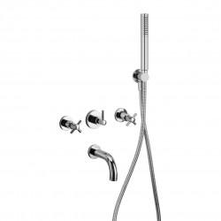 Complete built-in tap for bathtub Tesis Fratelli Frattini 51011