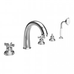 Deck mounted bath mixer with spout Musa Fratelli Frattini 23029