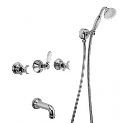 Built-in bath mixer Musa Fratelli Frattini 23011