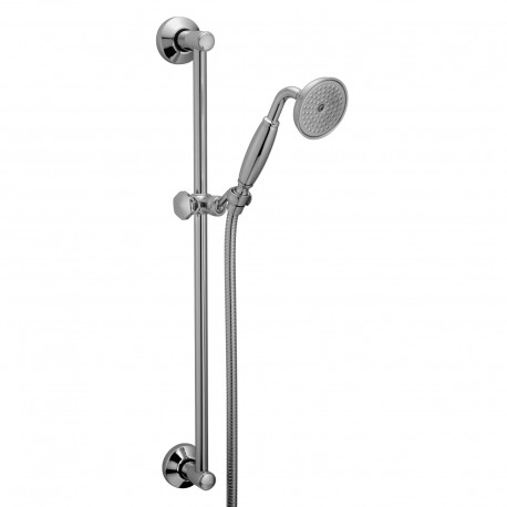 Shower rail with flexible hose and Fratelli Frattini hand shower 23617
